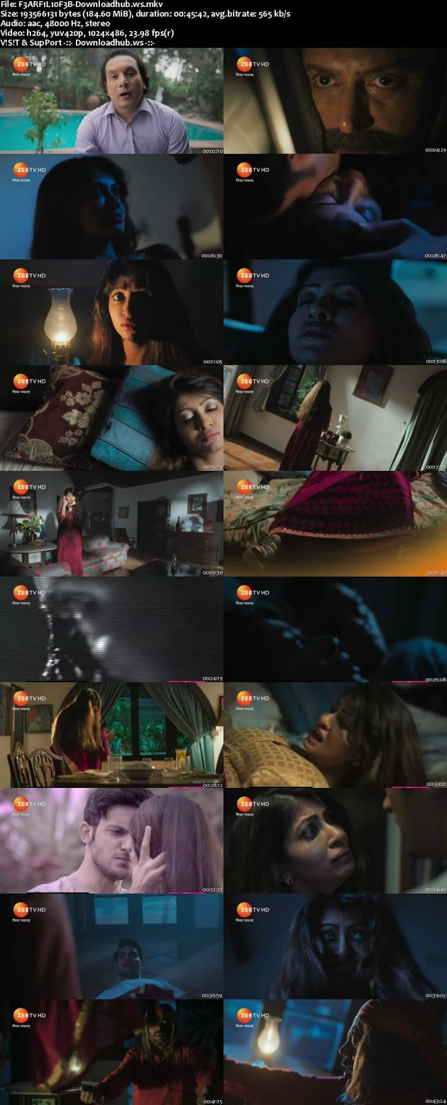 Fear Files 10 February 2018 480p HDTV Download