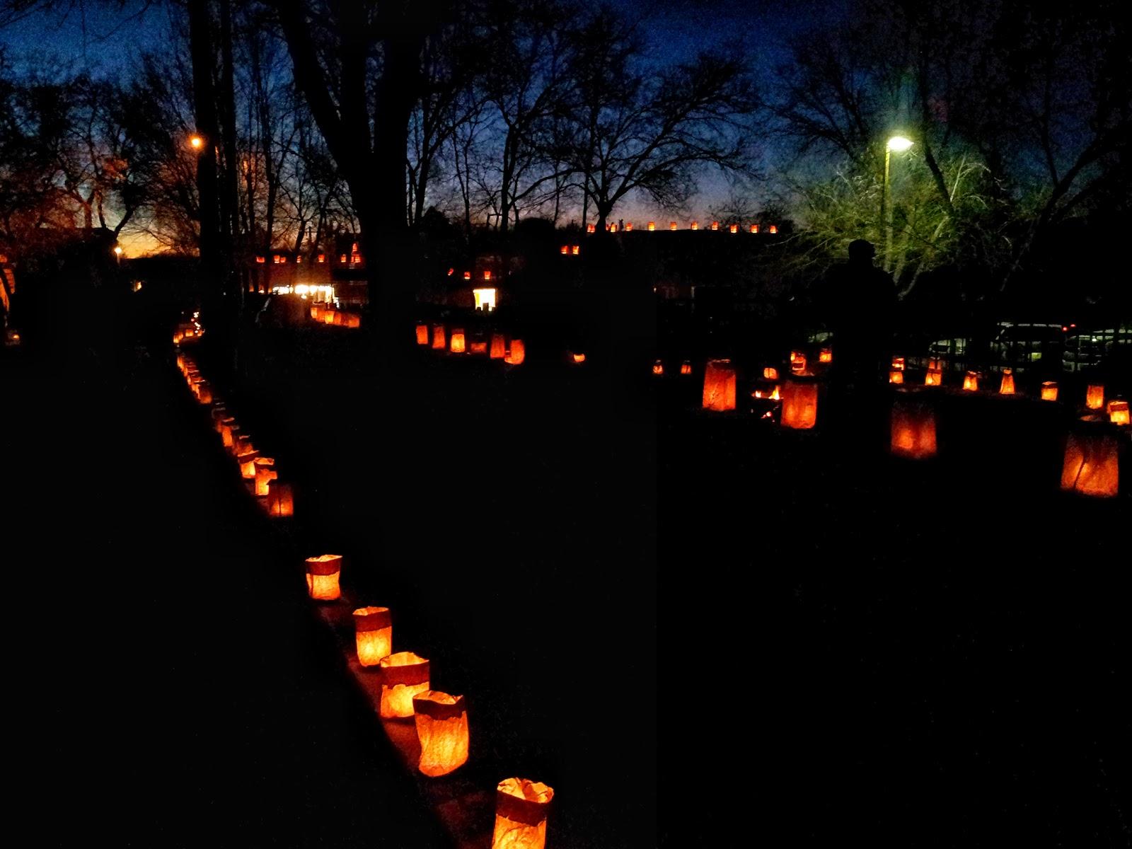 California In Taos Lighting Of Ledoux Street