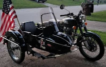 Ken. 2001 with sidecar