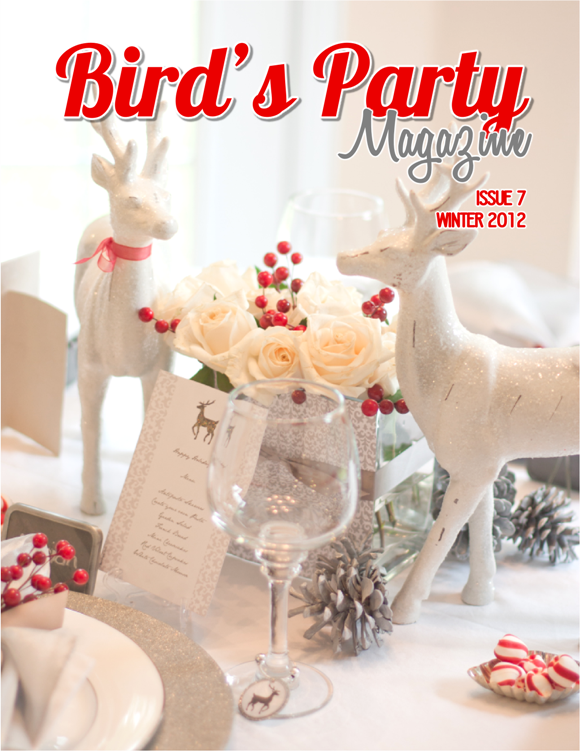Bird's Party Ideas Magazine Winter 2012, Issue 7