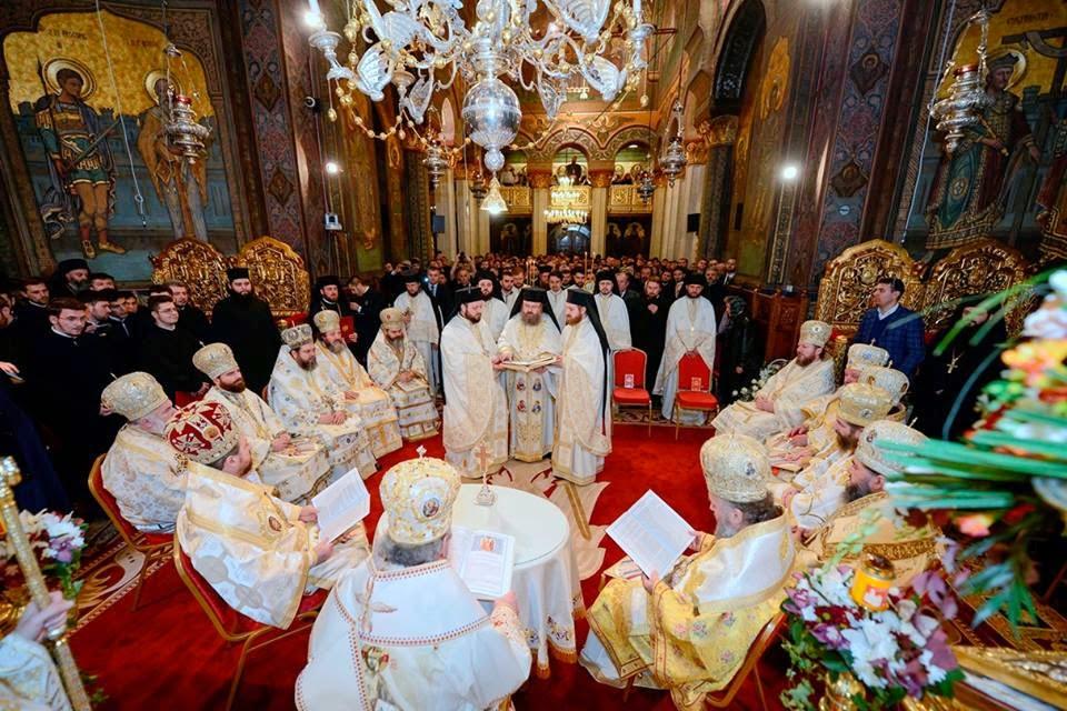 Hirotonia întru episcop a Parintelui Arhim. Timotei Aioanei, Catedrala Patriarhala