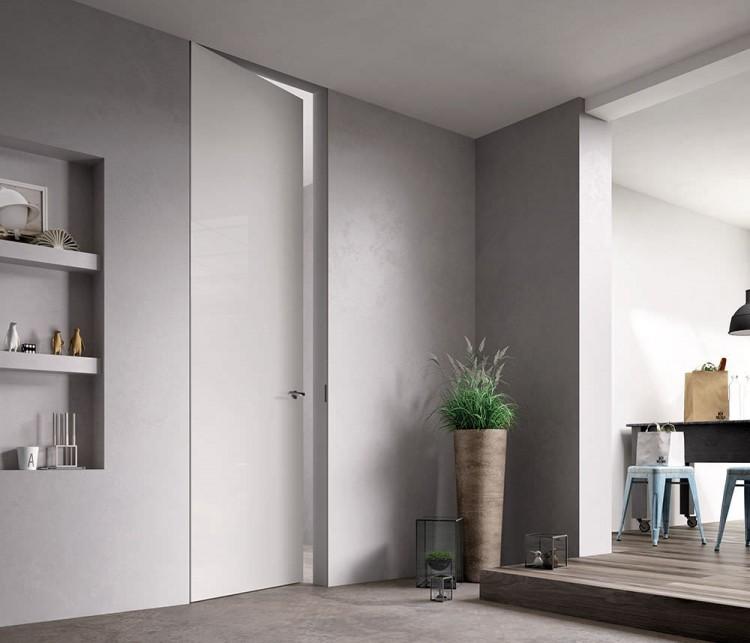 Puertas de madera de suelo a techo espacios en madera - Puertas piso interior ...