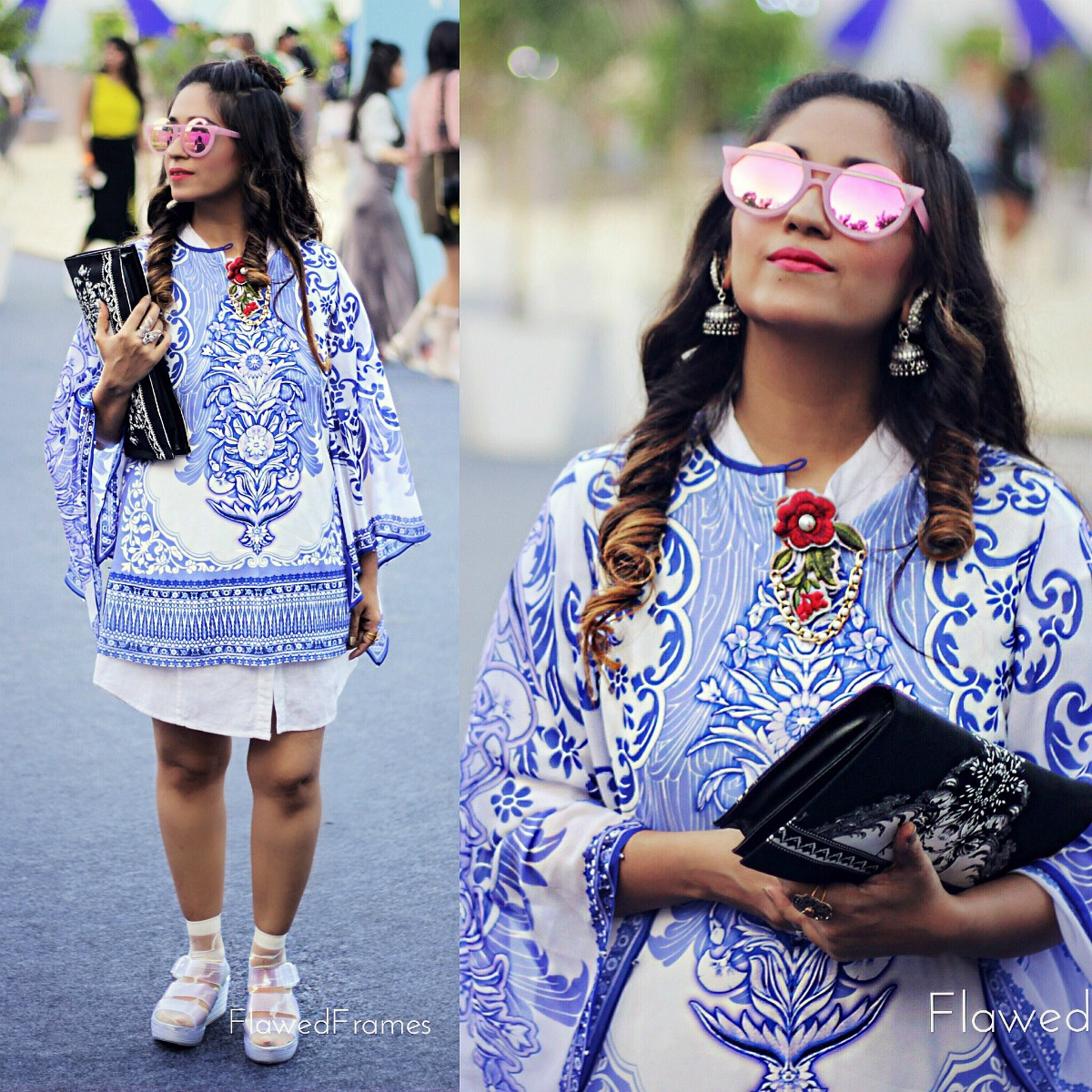 Oriental fashion and the kimono, amazon india fashion week