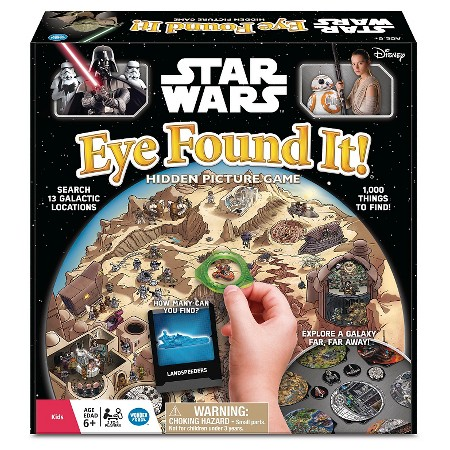 Star Wars Eye Found It! Hidden Picture Game
