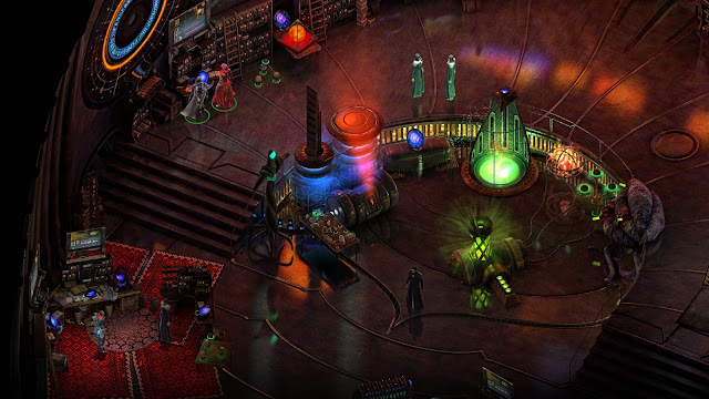 Screenshot from CRPG game Torment: Tides of Numenera