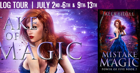 Review & Giveaway | Mistake of Magic by Alex Lidell