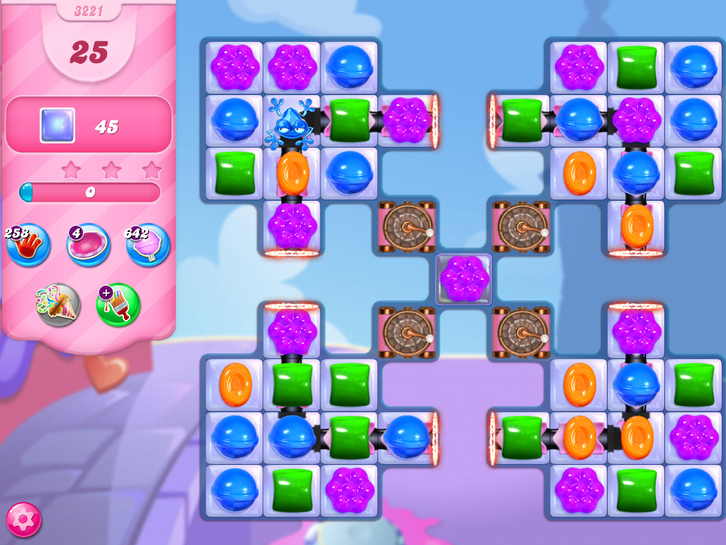Candy Crush Saga level 3221