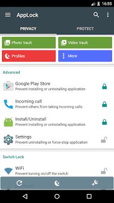 تطبيق AppLock لحماية التطبيقات والملفات برقم سري مدفوع للاندرويد