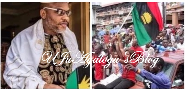 """Nnamdi Kanu blows hot again . Warns Ipob members """"give police money for bail and face expulsion"""""""
