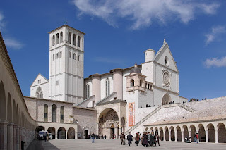 The Basilica of St Francis at Assisi