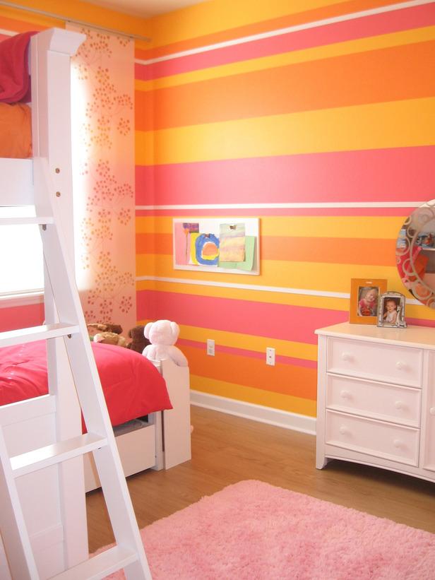 cool pink orange bedroom ideas | Beachnut Lane: Pink & Orange