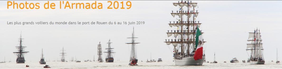 Photos de l'Armada 2019 Rouen Voiliers
