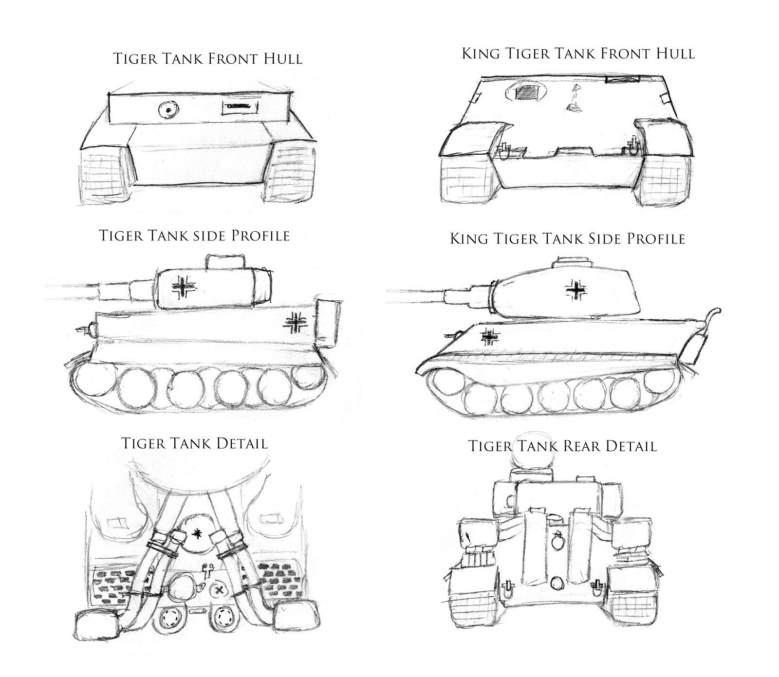 Found Photo German Tiger Tank