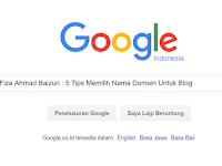 5 Tips Memilih Nama Domain Untuk Blog