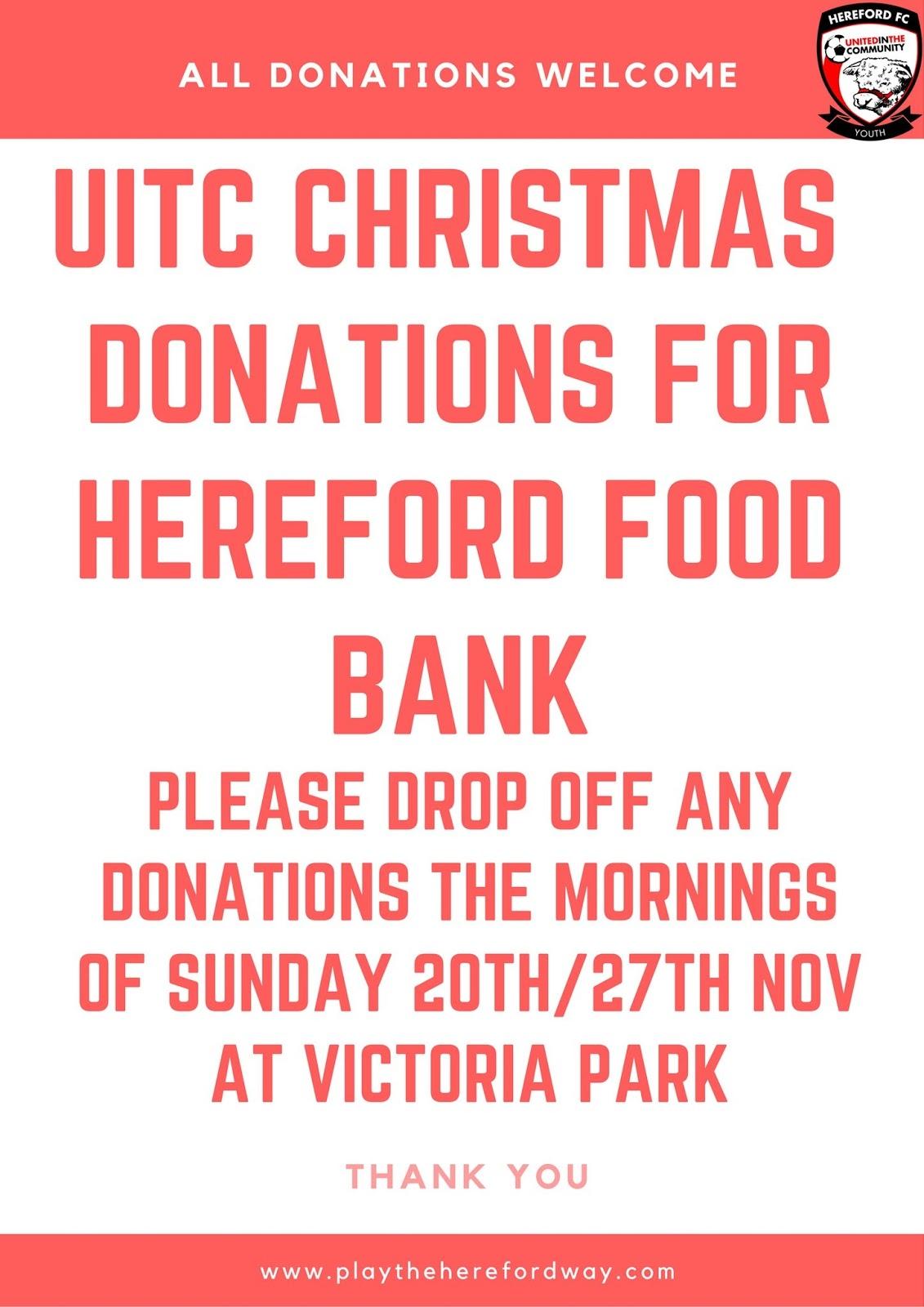 Hereford Food Bank Uk