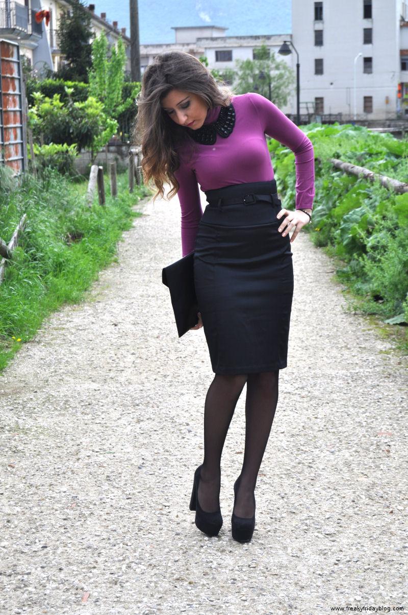 My Sunday In High Waist Skirt Freaky Friday Fashion