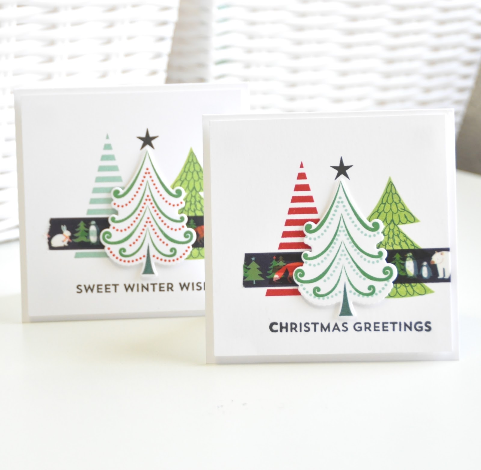 Chez Parmentier: Drie x Kerst #6.. MFT - Oh Christmas trees