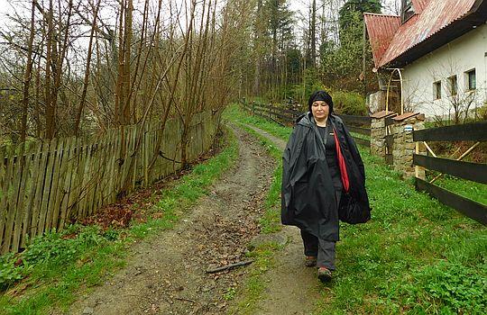 Wejście do wsi.