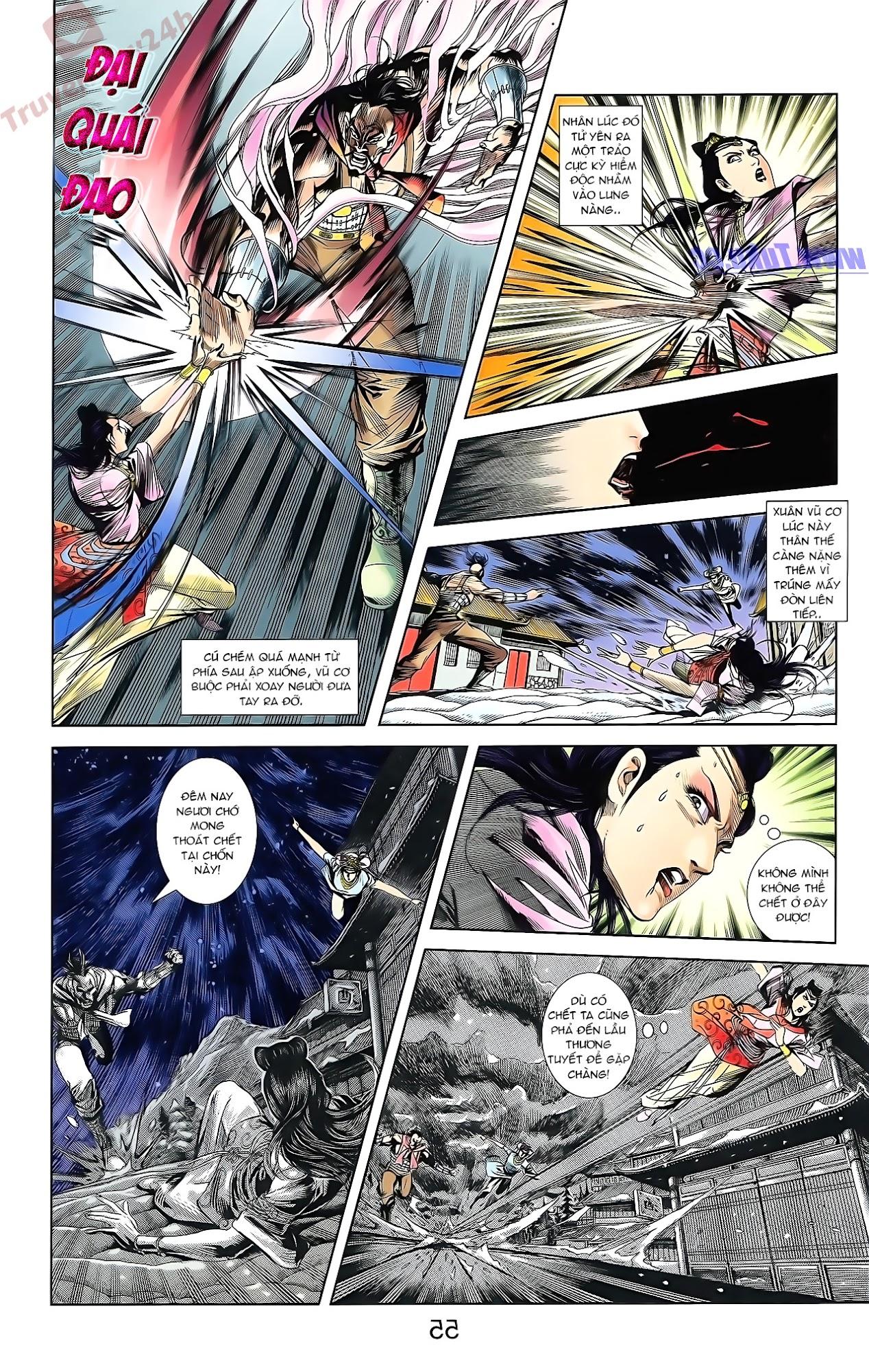 Tần Vương Doanh Chính chapter 51 trang 22