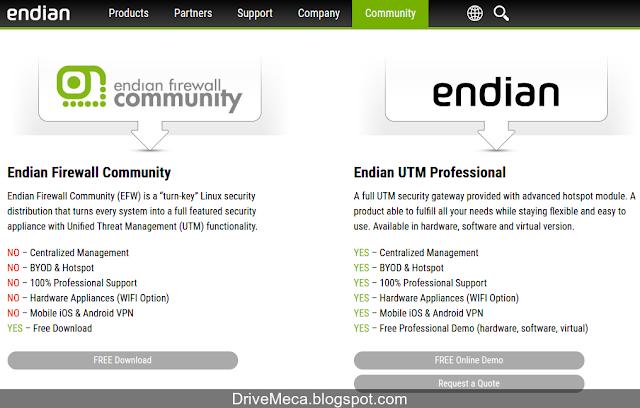 DriveMeca instalando Endian Firewall Community paso a paso
