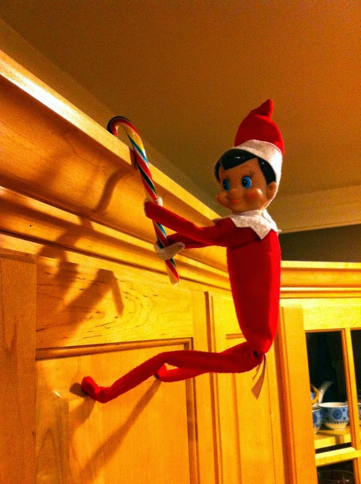 Little Housewife Elf On The Shelf Inspiration