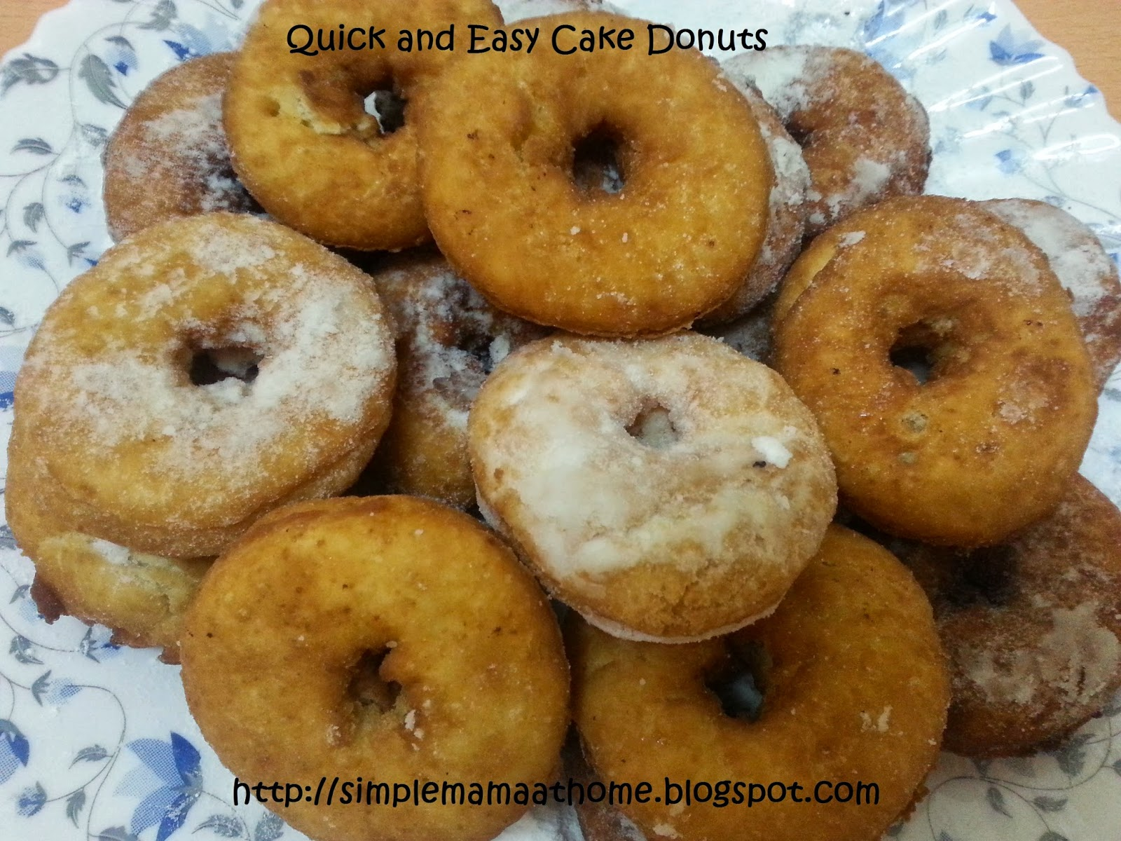 Quick and Easy Cake Donuts