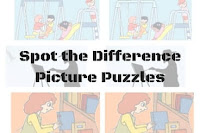 "How to solve ""Spot the Difference Picture Puzzles"" quickly"