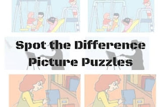 """How to solve """"Spot the Difference Picture Puzzles"""" quickly"""