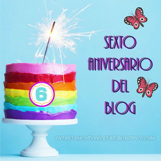 ¡Sexto aniversario del blog!