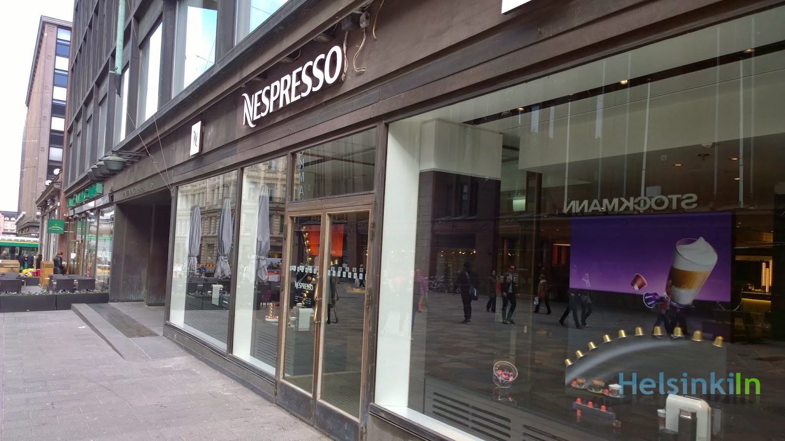 new Nespresso shop at Keskuskatu