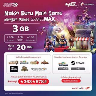 Config Telkomsel GamesMax Kpn Tunnel Ultimate Terbaru (Merubah Gamesmax ke Reguler)