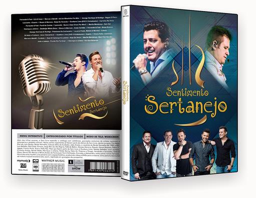 CAPA DVD – SENTIMENTO SERTANEJO 2018 DVD-R