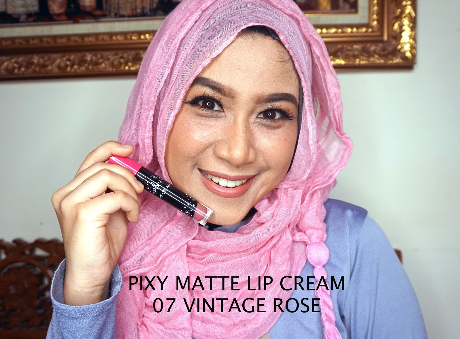 PIXY MATTE LIP CREAM NUDE SERIES 07 VINTAGE ROSE