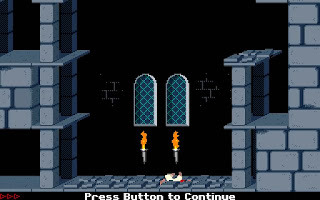 screenshot of Prince of Persia 1