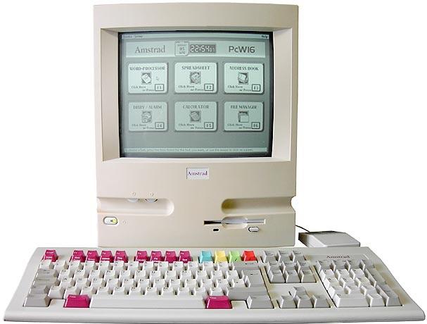 Amstrad PCW16