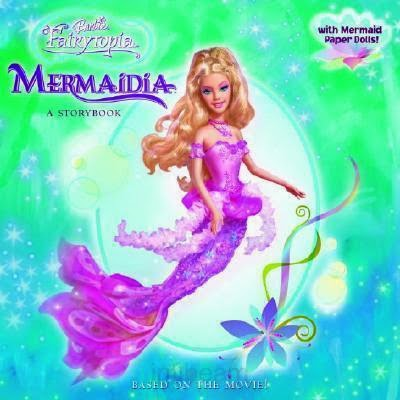 Mewarnai Barbie Mermaidia