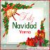 Tarjetas de Navidad para Yerno