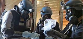 روسيا خبراء الأسلحة الكيميائية سيدخلون الى دوما يوم الأربعاء