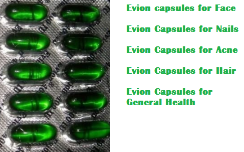 Evion capsules - Best uses of Evion capsules