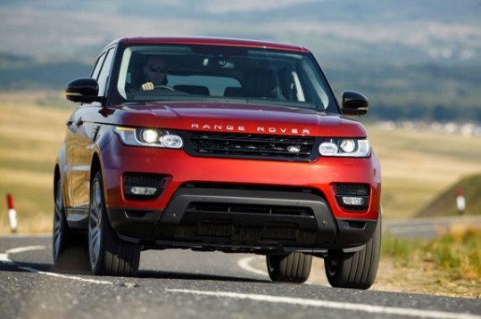 Range Rover Sport V8 Type: Red Color