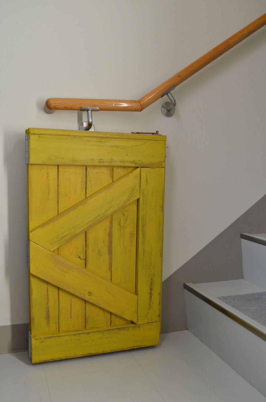 Sew Homegrown Barndoor Baby Gate