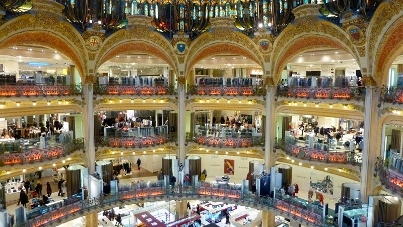Galeries Lafayette - Top 10 Sites in Paris