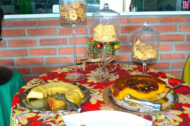 Pedra do Sino Hotel - café da manhã com comida típica