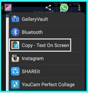 how to copy and paste on facebook with android phone