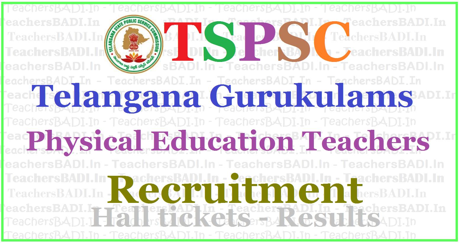TSPSC Gurukulam PETs Recruitment Final Answer Key 2017 ...