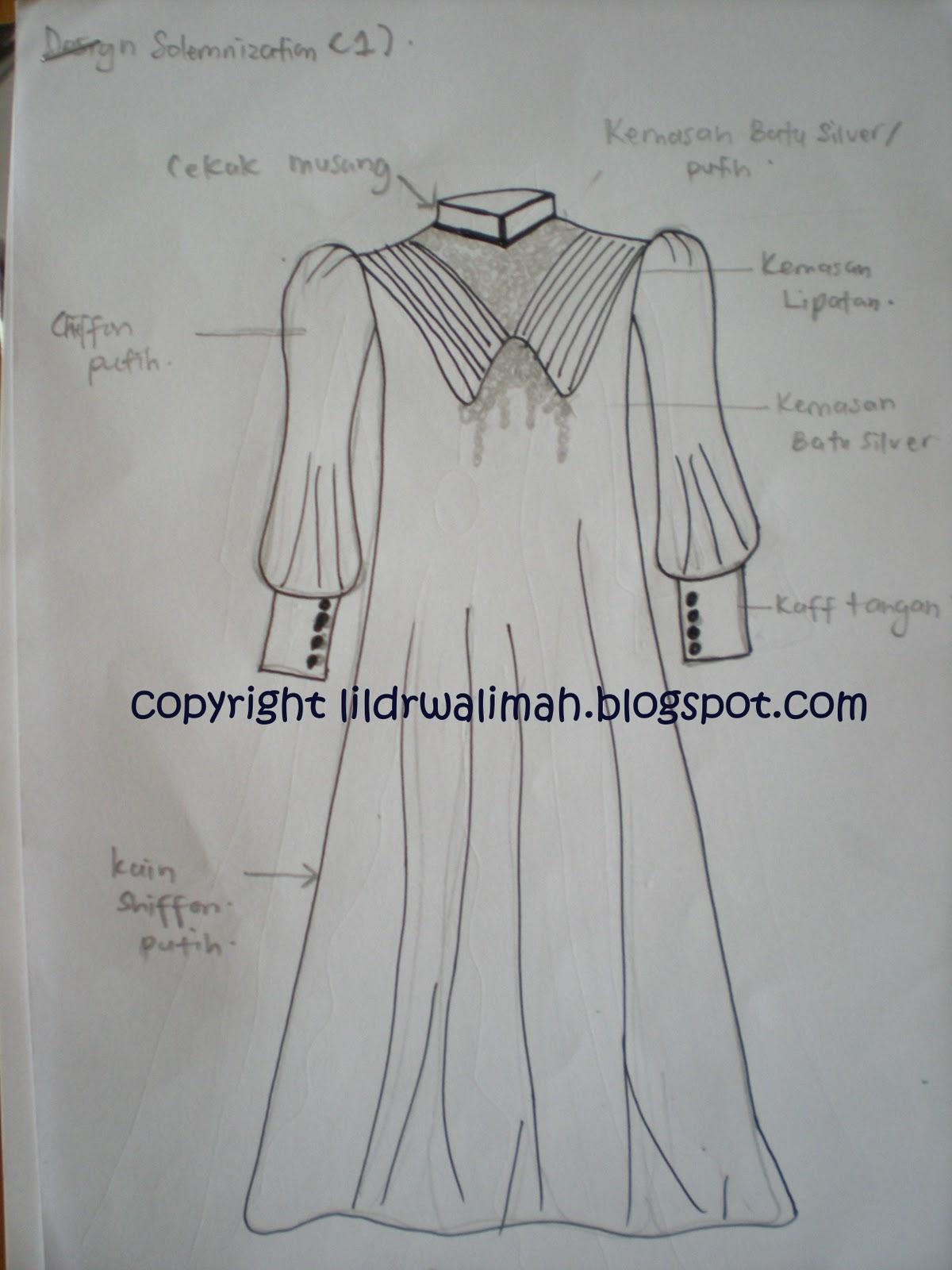 Littledr Swalimah Designer Miza Design Baju Nikah