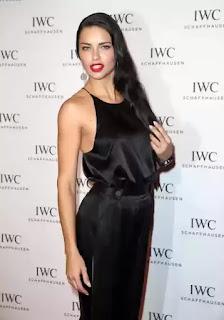 Fashion model Adriana Lima
