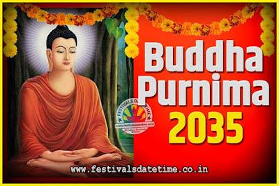 2035 Buddha Purnima Date and Time, 2035 Buddha Purnima Calendar