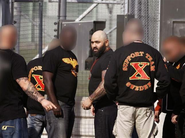 Polisrazzia mot mc klubb i stockholm