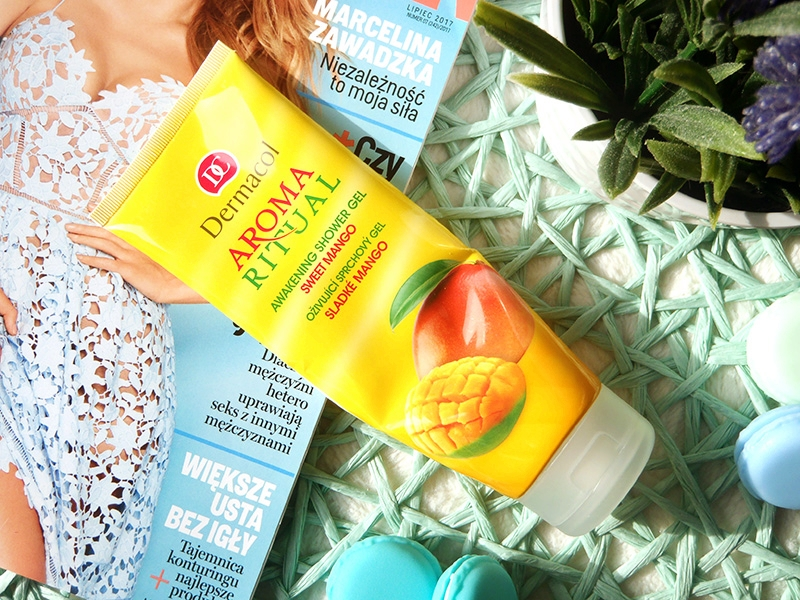 dermacol gel douche, dermacol sweet mango, dermacol żel pod prysznic mango